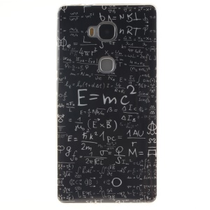 IMD TPU Gel Case Cover for Huawei Honor Play 5X/Honor 5X - Equation Pattern