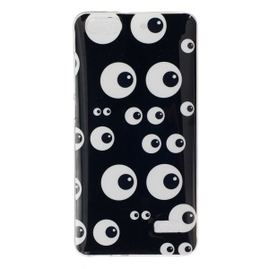 IMD Soft TPU Cover Protector for Huawei Honor 4C - Funny Eyes