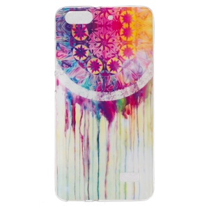 IMD TPU Cover Case for Huawei Honor 4C - Watercolor Dreamcatcher