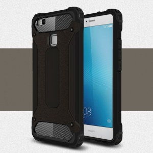 Armor Guard Plastic + TPU Shield Case for Huawei P9 Lite / G9 Lite - Black