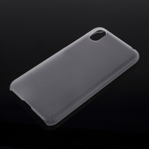 Rubberized Hard PC Case for Huawei Y5 (2019) / Honor 8S - Transparent
