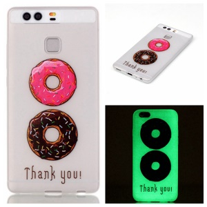 Luminous TPU Phone Cover for Huawei P9 - Delicious Biscuits