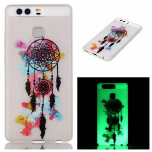 Luminous TPU Soft Phone Case for Huawei P9 - Dream Catcher