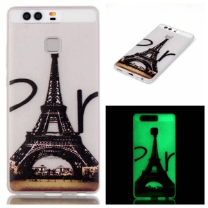 Luminous TPU Phone Case for Huawei P9 - Eiffel Tower