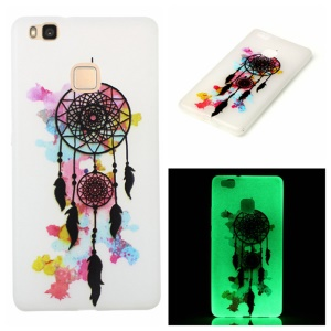 Noctilucent Soft TPU Case for Huawei P9 Lite - Colorized Dream Catcher