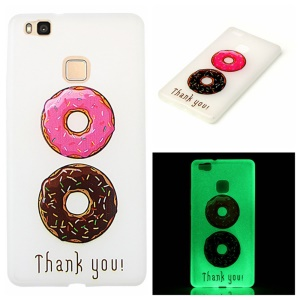 Noctilucent Soft TPU Case for Huawei P9 Lite - Donuts