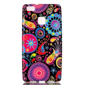 Patterned TPU Shell for Huawei P9 Lite / G9 Lite - Paisley Pattern