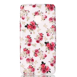 Patterned Flexible TPU Cover for Huawei P9 Lite / G9 Lite - Pretty Flowers