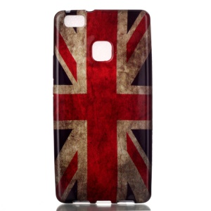 Patterned TPU Back Case for Huawei P9 Lite / G9 Lite - Vintage UK Flag
