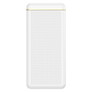 JOYROOM D-M205 10000mAh Wireless Power Bank Portable Charger with Phone Stand Holder - White