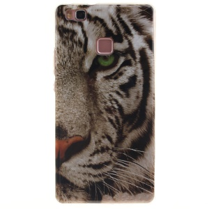 IMD TPU Back Phone Case for Huawei P9 Lite - Tiger