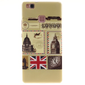 IMD TPU Back Phone Cover for Huawei P9 Lite - London Big Ben