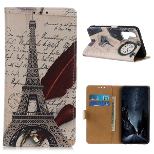 Eiffel Tower and Characters