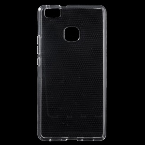 Slim Glossy TPU Case Cover for Huawei P9 Lite - Transparent