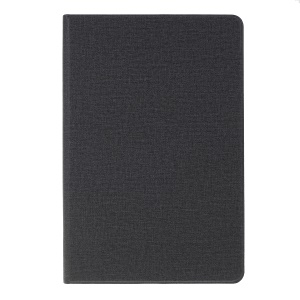 Cloth Texture Leather Stand Case for Huawei MediaPad M6 10.8-inch - Black