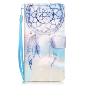 Patterned Leather Wallet Case for Huawei P9 Lite - Dream Catcher