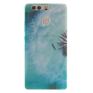 Patterned TPU Back Phone Case for Huawei P9 - Dandelion