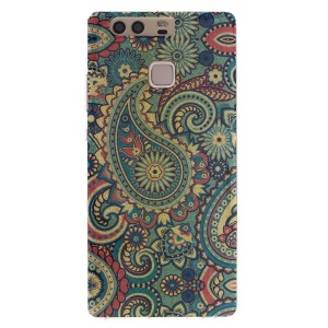 Patterned TPU Gel Case for Huawei P9 - Paisley Pattern