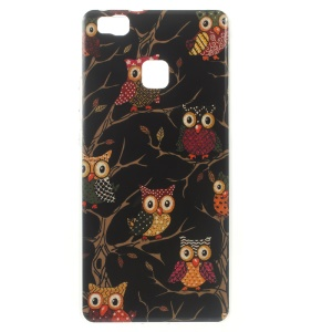 Patterned TPU Gel Case for Huawei P9 Lite / G9 Lite - Owls on the Branch