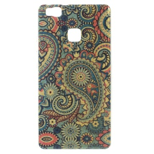 Patterned TPU Phone Cover for Huawei P9 Lite / G9 Lite - Paisley Flowers