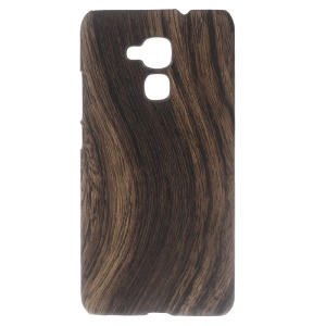 Wood Grain Leather Coated Hard Cover for Huawei Honor 5c