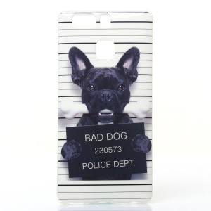 Soft IMD TPU Case Shell for Huawei P9 - Bad Dog