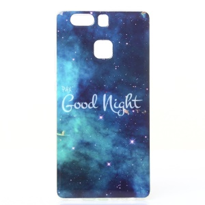 Soft IMD TPU Gel Case for Huawei P9 - Good Night