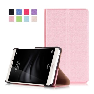 PU Leather Flip Cover for Huawei MediaPad M2 7.0 - Pink