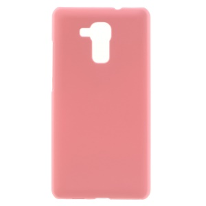 Rubberized Hard Plastic Protector Cover for Huawei Honor 5c / GT3 - Pink