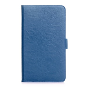 Leather Stand Cover for Huawei MediaPad M2 7.0 - Blue
