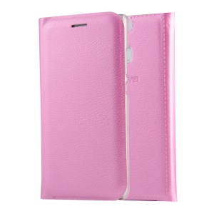 PU Leather Protective Case Cover for Huawei P9 - Pink