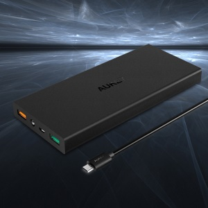 AUKEY PB-T9 Quick Charge 3.0 16000mAh Mobile Power Bank Dual USB Output