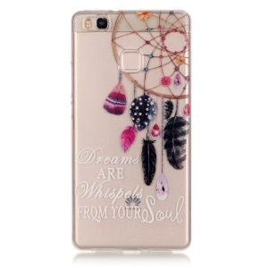 IMD Clear Soft TPU Cover Case for Huawei P9 Lite / G9 Lite - Dream Catcher