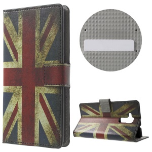PU Leather Stand Case for Huawei Honor 5c - Vintage UK Flag