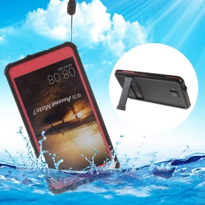 REDPEPPER Underwater PC + TPU IP68 Waterproof Shell for Huawei Ascend Mate7 - Rose
