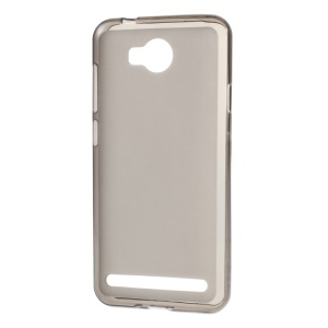 Double-sided Matte TPU Phone Cover for Huawei Y3II / Y3 II - Grey