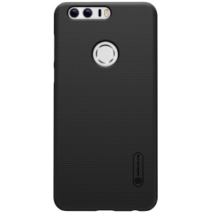 NILLKIN Super Frosted Shield Hard PC Case for Huawei Honor 8 with Screen Film - Black