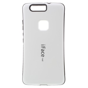 IFACE MALL PC + TPU Hybrid Cover for Huawei Honor V8 - White