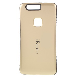 IFACE MALL PC + TPU Hybrid Cover Case for Huawei Honor V8 - Gold