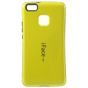 Caso protector PC IFACE MALL TPU para Huawei híbrido + P9 Lite / G9 Lite - Amarillo