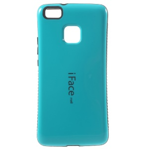 IFACE MALL Hybrid PC + TPU Glossy Case for Huawei P9 Lite/G9 Lite - Baby Blue
