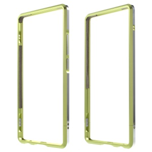 Aluminum Alloy Bumper Phone Case for Huawei P9 Plus with Strap + Screw Kit - Green
