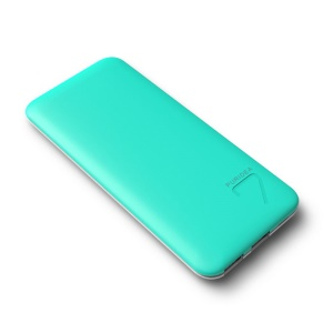 PURIDEA S4 6600mAh Dual USB Portable Power Bank for iPhone iPad Samsung - Green