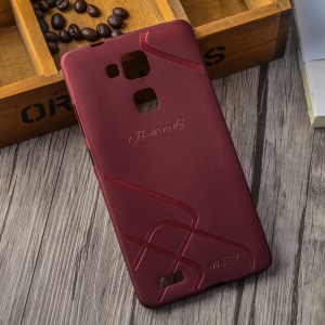 BOSILANG Frosted TPU Shell Cover for Huawei Ascend Mate7 - Red