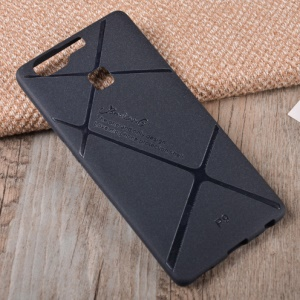 BOSILANG Lines Pattern Matte TPU Case Cover for Huawei P9 - Black