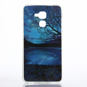 Soft IMD TPU Case for Huawei Honor 5c - Beautiful Night Scene