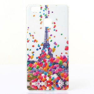 IMD TPU Gel Back Shell for Huawei P9 Lite/G9 Lite - Balloon and Eiffel Towel