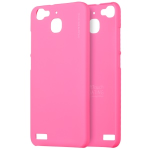 X-LEVEL Slim Rubberized PC Back Case for Huawei Enjoy 5s/Huawei GR3 - Rose