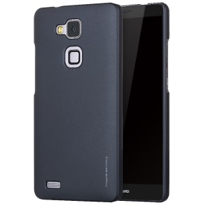 X-LEVEL Slim Rubberized PC Phone Case for Huawei Mate7 - Black