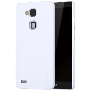 X-LEVEL Slim Rubberized PC Phone Cover for Huawei Mate7 - White